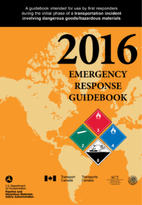 The Emergency Response Guide can help you identify chemicals