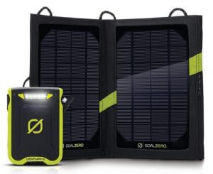 Goal Zero Venture 30 Solar Recharging Kit with Nomad 7 portable solar charger
