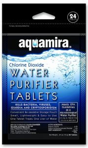 Aquamira Water Purification Tablets