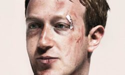 Facebook bloodied in the public eye.
