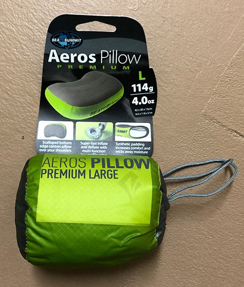 Sea To Summit Aeros Pillow Large