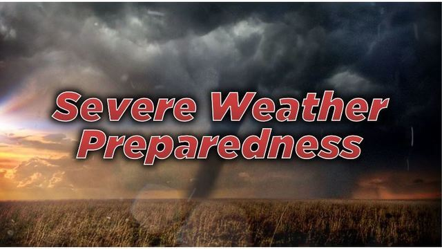 Prepping for Severe Weather