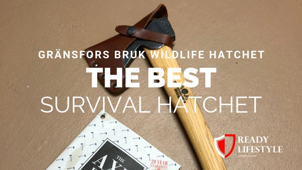 Gränsfors Bruk Wildlife Hatchet