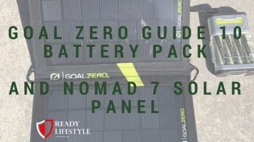GOAL ZERO GUIDE 10 BATTERY PACK