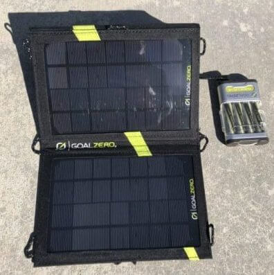 Goal Zero Guide 10 Battery Pack and Nomad 7 Solar Panel