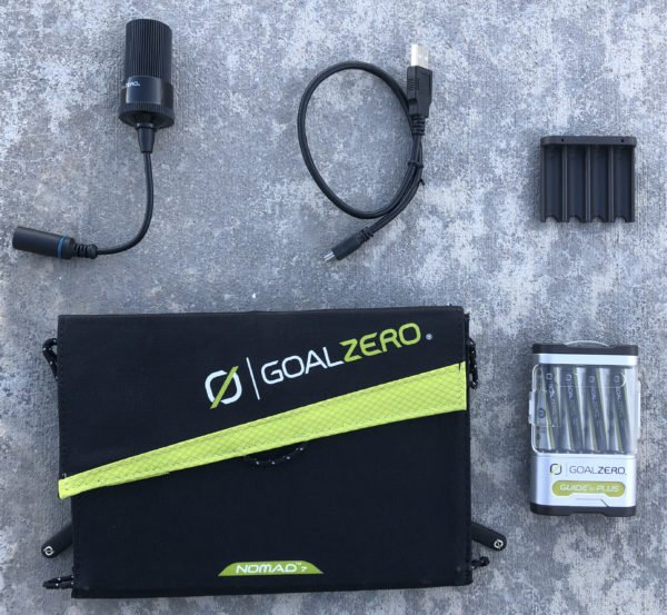 Guide 10 Plus Solar Recharging Kit with Nomad 7 Solar Panel
