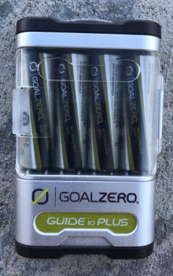 Goal Zero Nomad 7 Solar Panel and Guide 10 Battery Pack