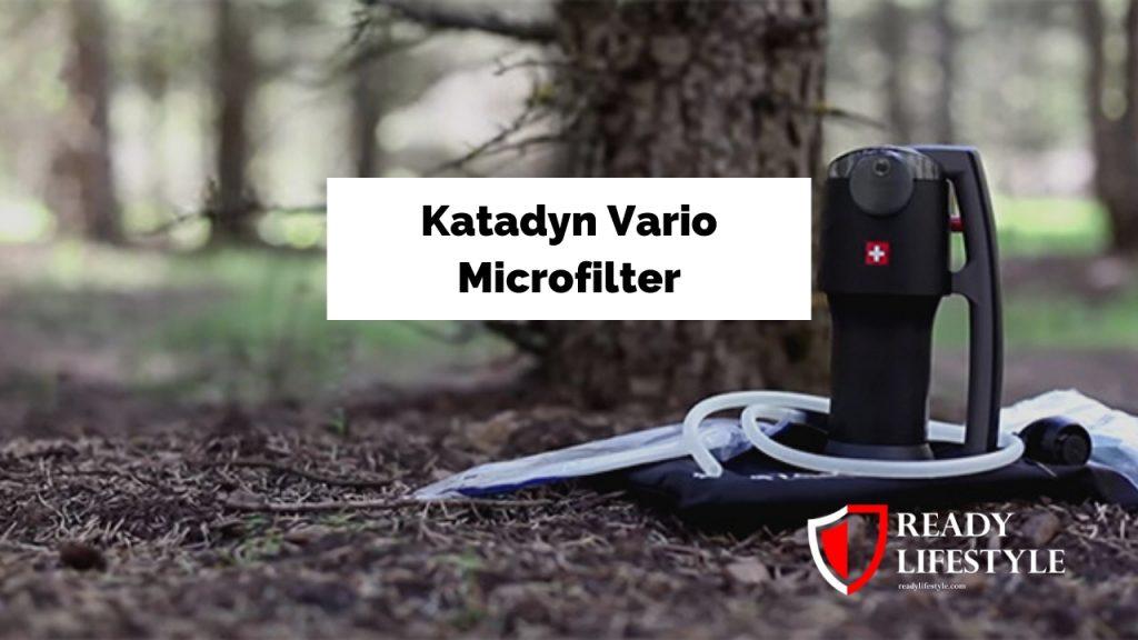 Katadyn Vario Microfilter