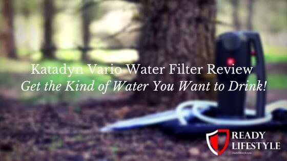 Katadyn Vario Review - One of the Top Mini Water Filter Systems!