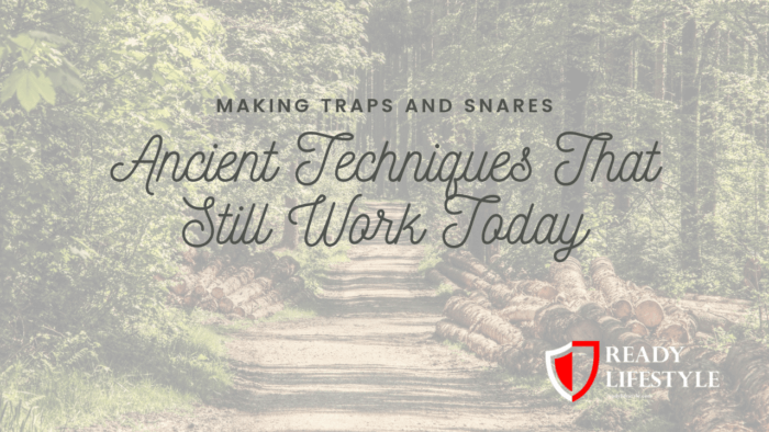Making Traps and Snares