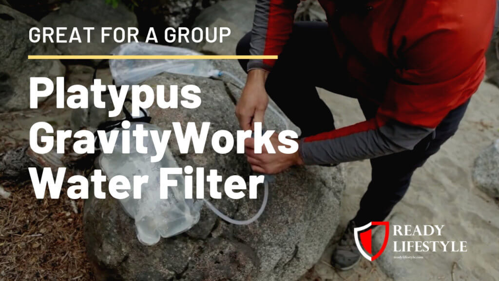 Platypus GravityWorks Water Filter