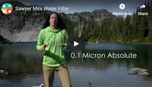 Sawyer Mini Water Filtration System Review