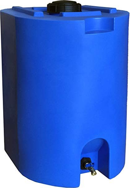 55 Gallon Water Storage Tank By WaterPrepared