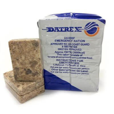 Datrex 3600 emergency rations