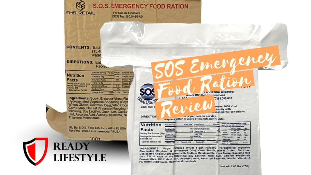 SOS Emergency Food Ration Review