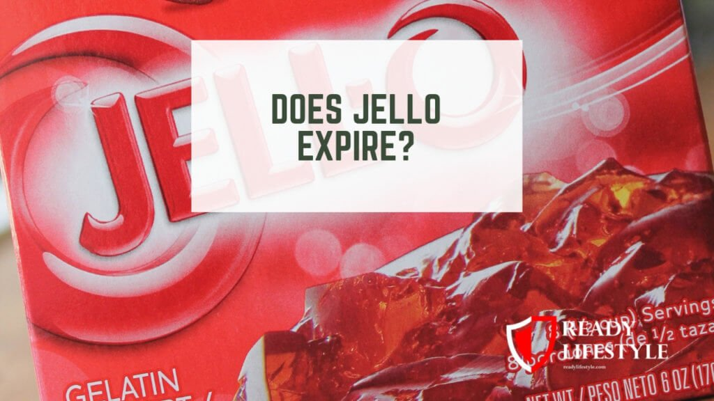 Does Jello Expire