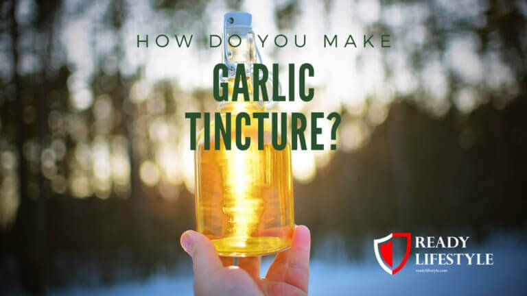 Garlic Tincture
