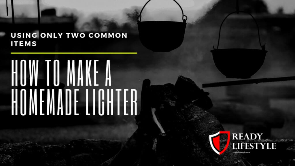 How to Make a Homemade Lighter Using Only Two Common Items