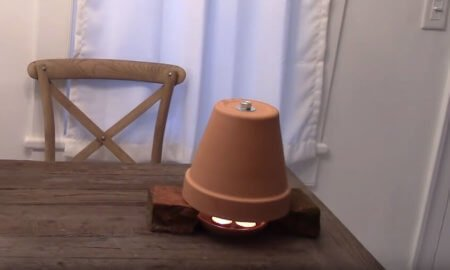 How to Build a Clay Pot Heater