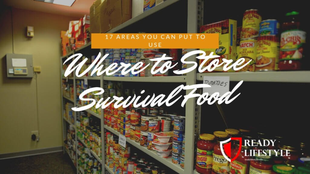 Where to Store Survival Food