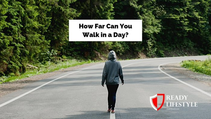 How Far Can You Walk in a Day