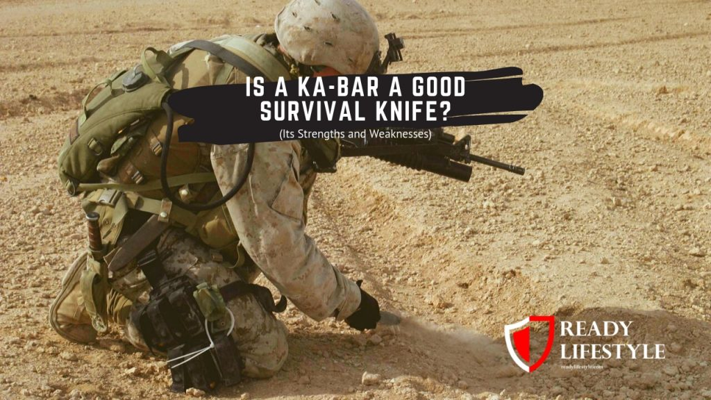 Is a Ka-Bar a Good Survival Knife? (Its Strengths and Weaknesses)