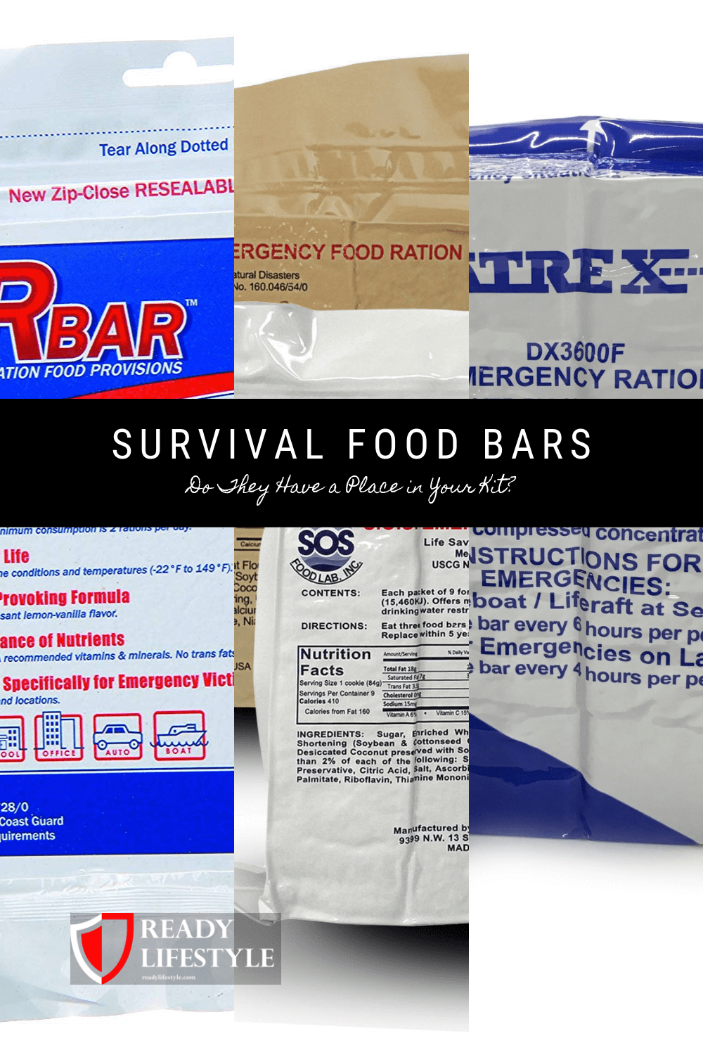 Survival Food Bars