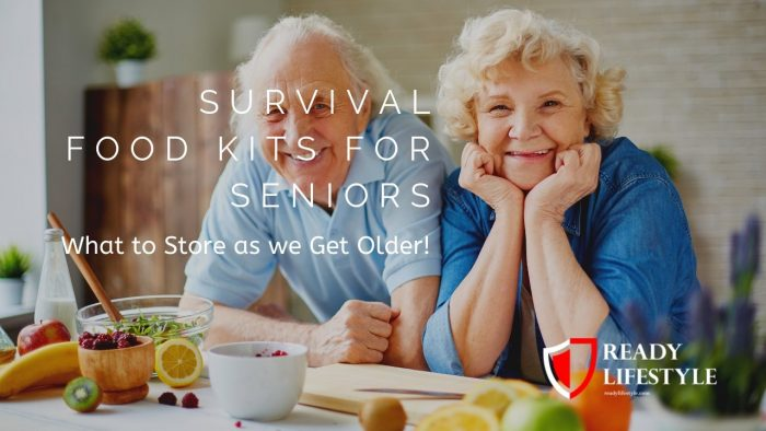 Survival Food Kits for Seniors