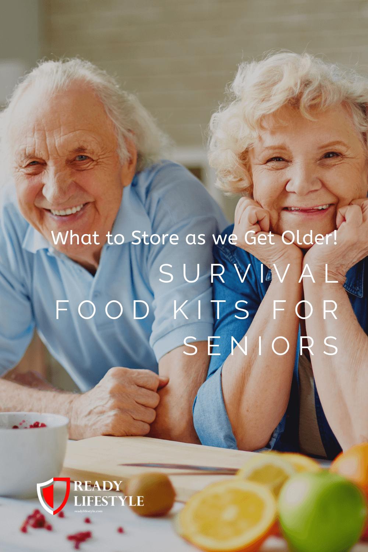 Survival Food Kits for Seniors