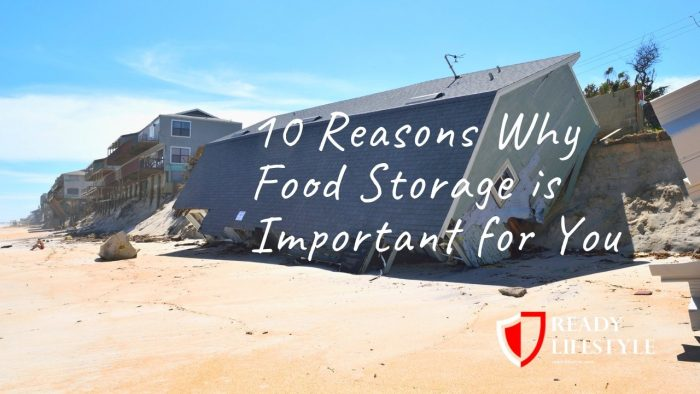 Why Food Storage is Important