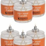 115 Hour Emergency Candle 6 Pack