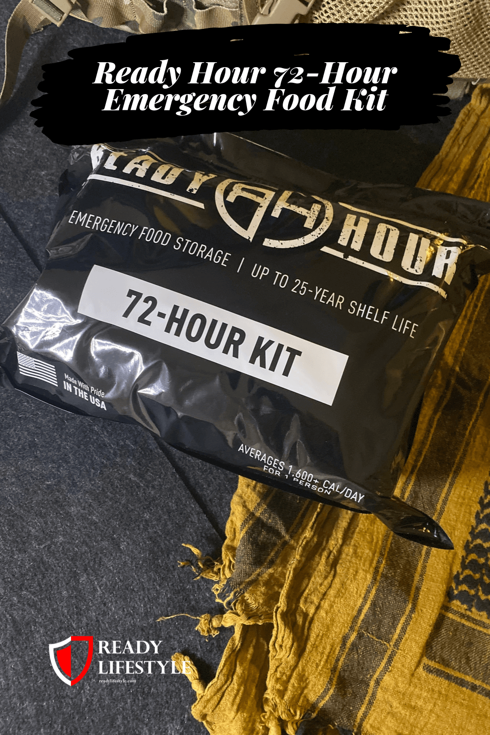 Ready Hour 72-Hour Emergency Food Kit