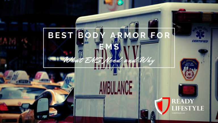 Best Body Armor for EMS
