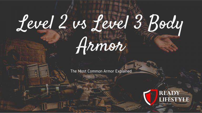 Level II vs Level III Body Armor