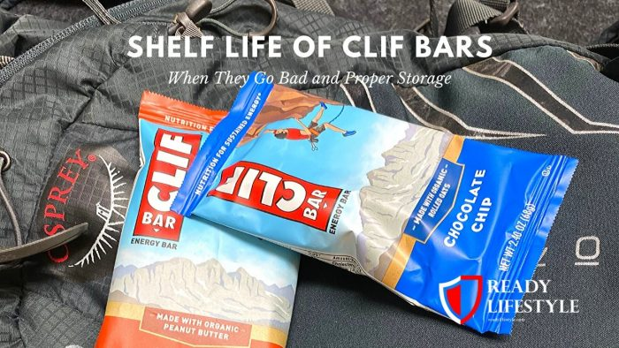 Clif Bar Shelf Life