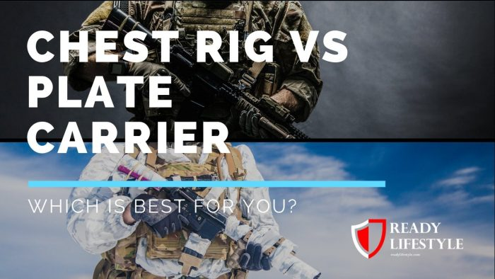 Chest Rig vs Plate Carrier