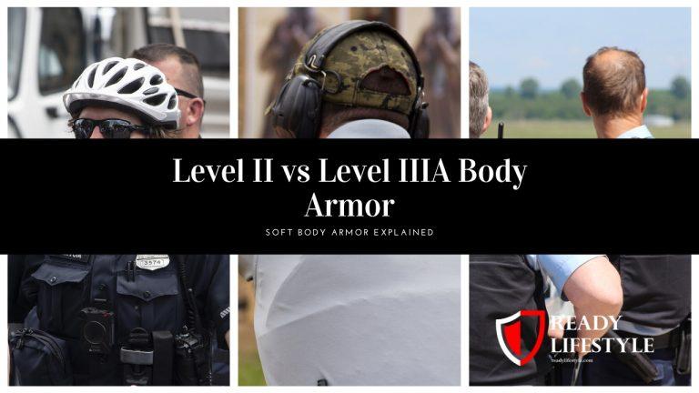 Level II vs Level IIIA Body Armor