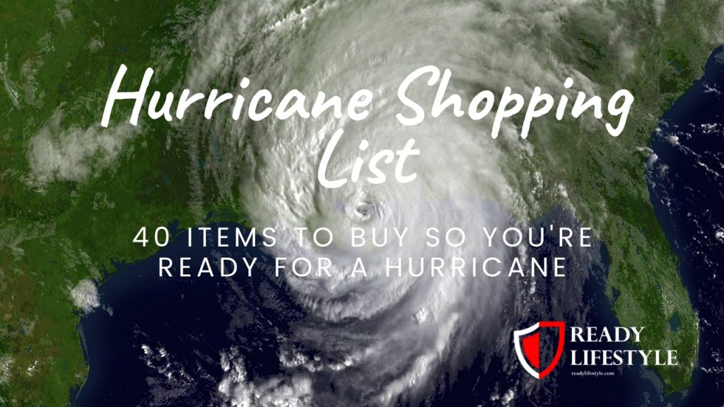 Hurricane Shopping List
