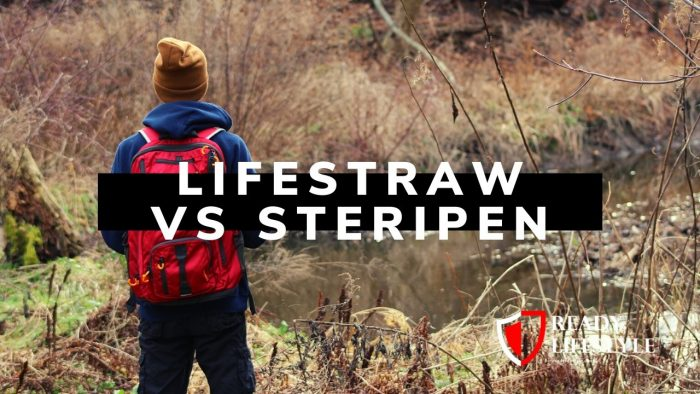 LifeStraw vs SteriPEN