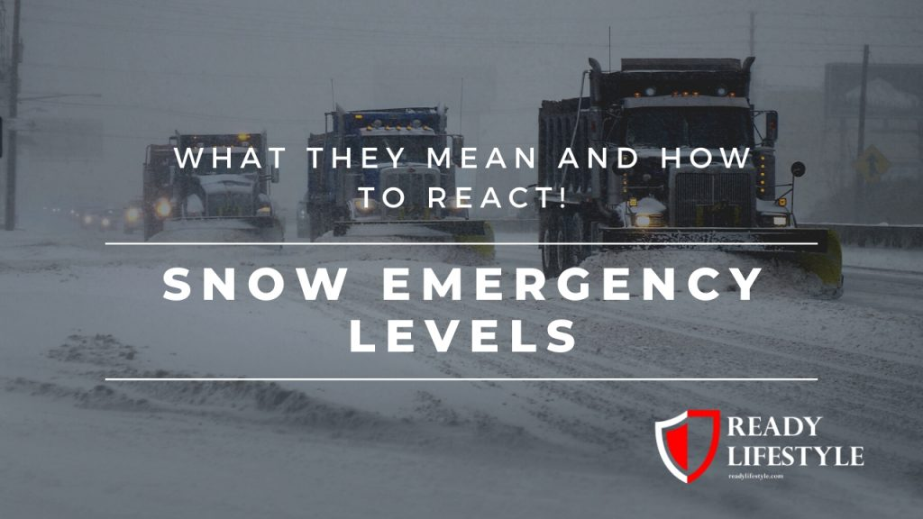 Snow Emergency Levels