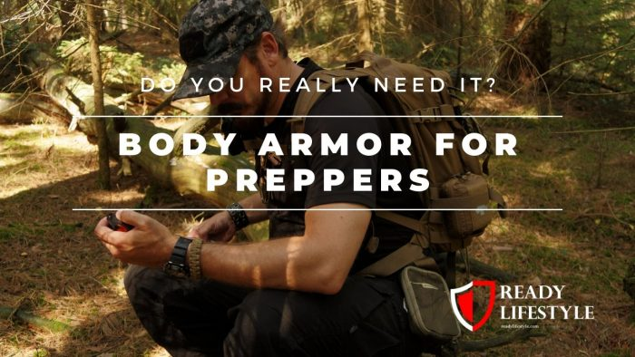Body Armor for Preppers