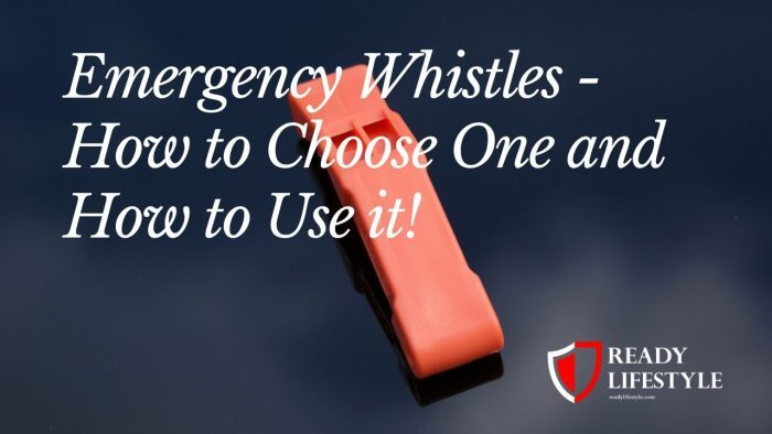 What is an Emergency Whistle