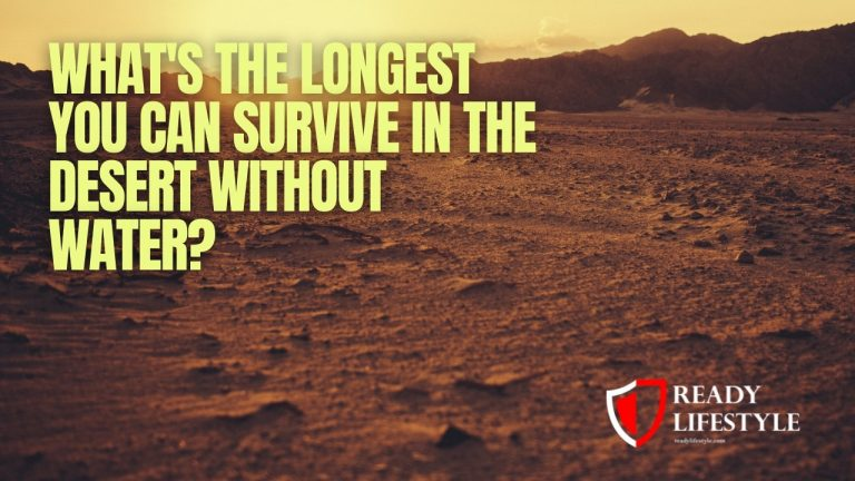 What's the Longest You Can Survive in the Desert Without Water